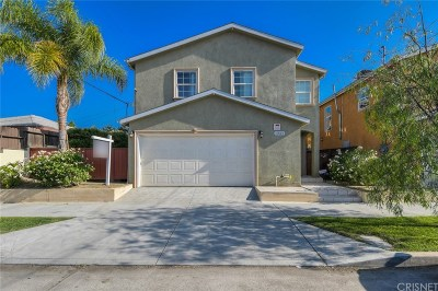 North Hollywood Single Family Home Active Under Contract: 11564 Archwood Street