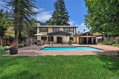 Woodland Hills Single Family Home For Sale: 23323 Los Encinos Way