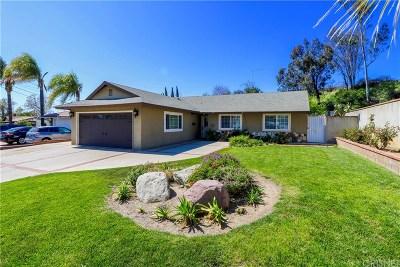 Mission Hills San Fernando Single Family Home For Sale: 14417 Kingsbury Street