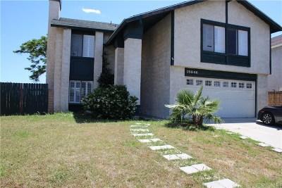 Mission Hills San Fernando Single Family Home For Sale: 15046 Kalisher Street