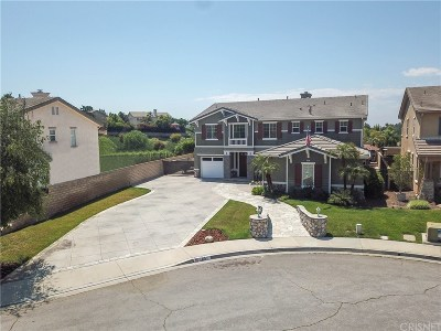 Simi Valley Single Family Home For Sale: 1051 Red Pine Drive