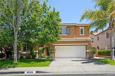 Castaic Single Family Home For Sale: 30328 Barcelona Road