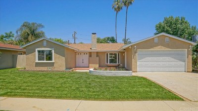 West Hills Single Family Home For Sale: 22717 Cantlay Street