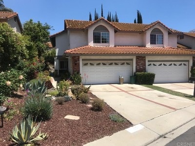 Agoura Hills Condo/Townhouse For Sale: 5316 Mark Court