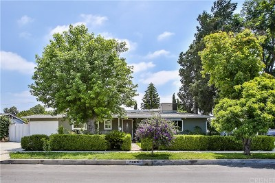 Reseda Single Family Home Active Under Contract: 7800 Bothwell Road