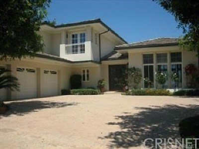 Calabasas Single Family Home Active Under Contract: 23425 Palm Drive