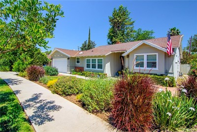 Woodland Hills Single Family Home For Sale: 22737 Collins Street