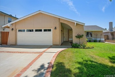 Los Angeles County Single Family Home For Sale: 22912 Las Mananitas Drive