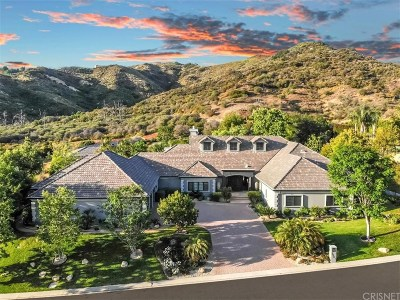 Calabasas Single Family Home Active Under Contract: 25071 Abercrombie Lane