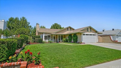 Saugus Single Family Home For Sale: 27935 Carnegie Avenue