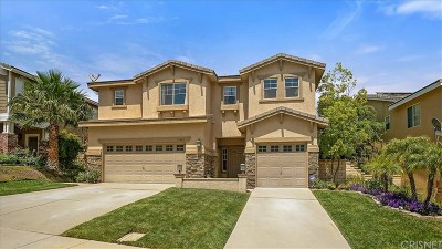 Castaic Single Family Home For Sale: 27803 Mariposa Lane