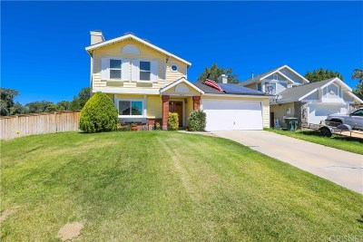 Rosamond Single Family Home For Sale: 4401 Sonora Court