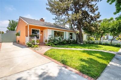 Sherman Oaks Single Family Home For Sale: 5712 Bevis Avenue