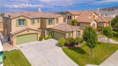 Lancaster Single Family Home For Sale: 42460 Valley Vista Drive