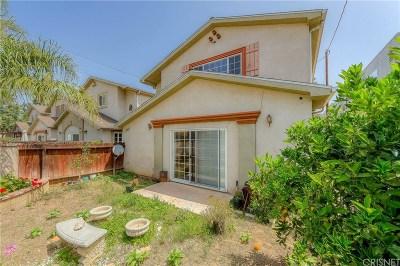 San Fernando Condo/Townhouse For Sale: 1401 Glenoaks Boulevard