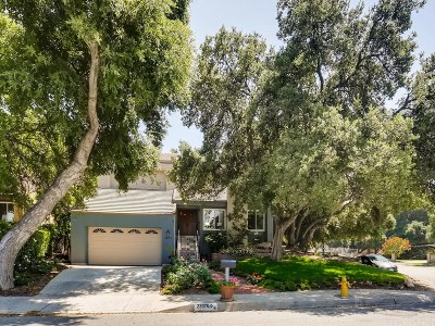Newhall Single Family Home Active Under Contract: 23370 Alamos