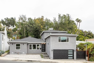 Los Feliz Single Family Home For Sale: 4242 Hazel Kirk Drive