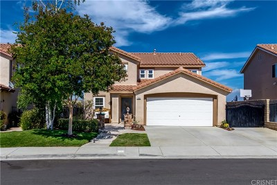 Castaic Single Family Home For Sale: 29864 Cashmere Place