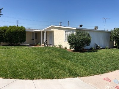 Panorama City Single Family Home Active Under Contract: 13820 Roscoe Boulevard