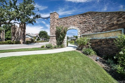 Simi Valley Single Family Home For Sale: 1596 Hidden Ranch Drive