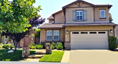 Saugus Single Family Home For Sale: 26583 Millhouse Drive