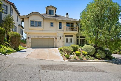Newhall Single Family Home For Sale: 24925 Wheeler Road
