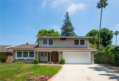 Northridge Single Family Home Active Under Contract: 16729 Klee Street