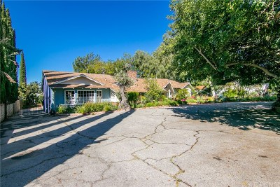 Sylmar Single Family Home Active Under Contract: 13661 Glenoaks Boulevard