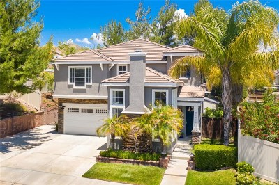 Saugus Single Family Home Active Under Contract: 21511 Birch Canyon Way