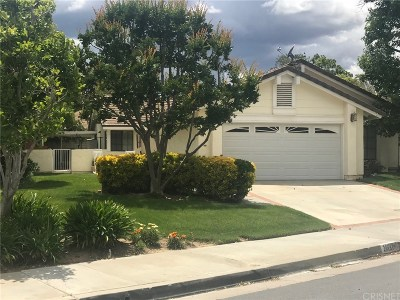 Valencia Single Family Home Active Under Contract: 26131 Alejandro Drive