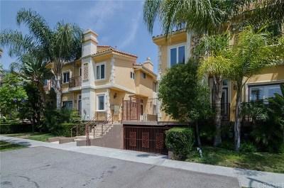 Sherman Oaks Condo/Townhouse For Sale: 14535 Margate Street #4
