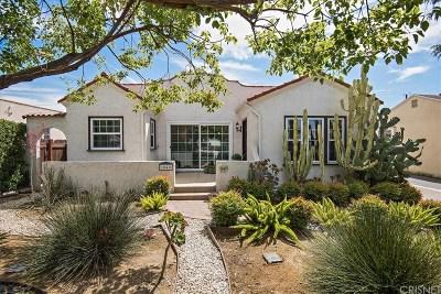 Burbank Single Family Home For Sale: 1040 North Cordova Street
