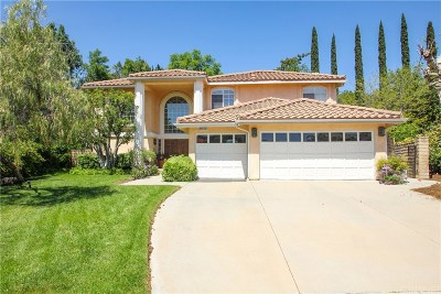 Granada Hills Single Family Home For Sale: 12461 Jacqueline Place