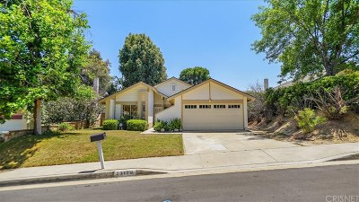 Valencia Single Family Home For Sale: 23128 Calvello Drive
