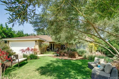 Woodland Hills Single Family Home Active Under Contract: 23301 Gonzales Drive