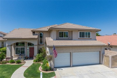 Simi Valley Single Family Home Active Under Contract: 3849 Sierra Madre Court