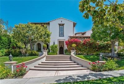 Calabasas Single Family Home For Sale: 25421 Prado De Oro