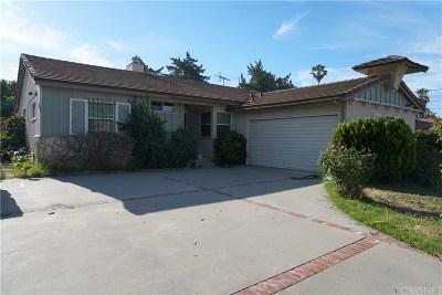 Northridge Single Family Home For Sale: 8438 Zelzah Avenue
