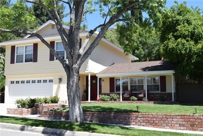 Saugus Single Family Home For Sale: 22143 Barbacoa