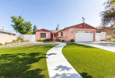 Granada Hills Single Family Home Active Under Contract: 17248 Celtic Street