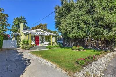 Toluca Lake Single Family Home Active Under Contract: 5233 Strohm Avenue