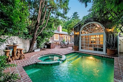 Studio City Single Family Home For Sale: 3556 Mound View Avenue