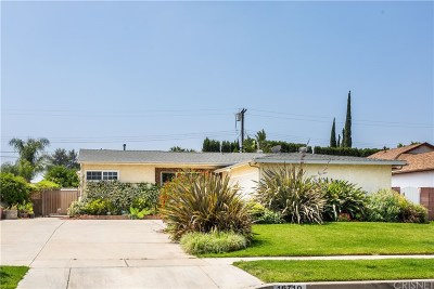 Northridge Single Family Home Active Under Contract: 16710 Kinzie Street