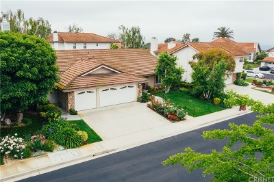 Thousand Oaks Single Family Home For Sale: 1718 Roulette Circle
