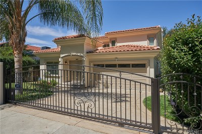 Woodland Hills Single Family Home For Sale: 22137 Avenue San Luis