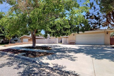 Palmdale Single Family Home For Sale: 39136 11th Street West