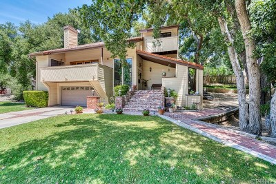 Newhall Single Family Home For Sale: 23711 La Salle Canyon Road