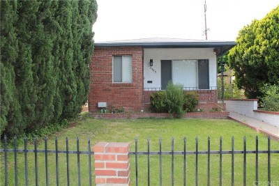 Burbank Single Family Home For Sale: 2405 West Chandler Boulevard