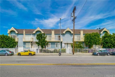 North Hollywood Condo/Townhouse For Sale: 5730 Vineland Avenue #107