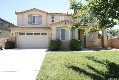 Palmdale Single Family Home For Sale: 40729 Cypress Grove Court